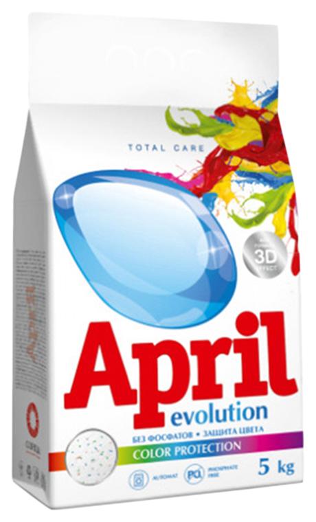 Стиральный порошок april evolution color protection, автомат, 5 кг