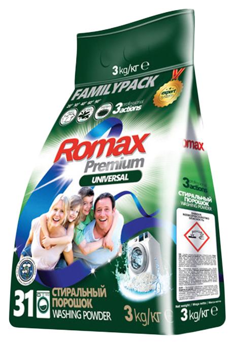 Порошок Romax universal premium стиральный 3 кг
