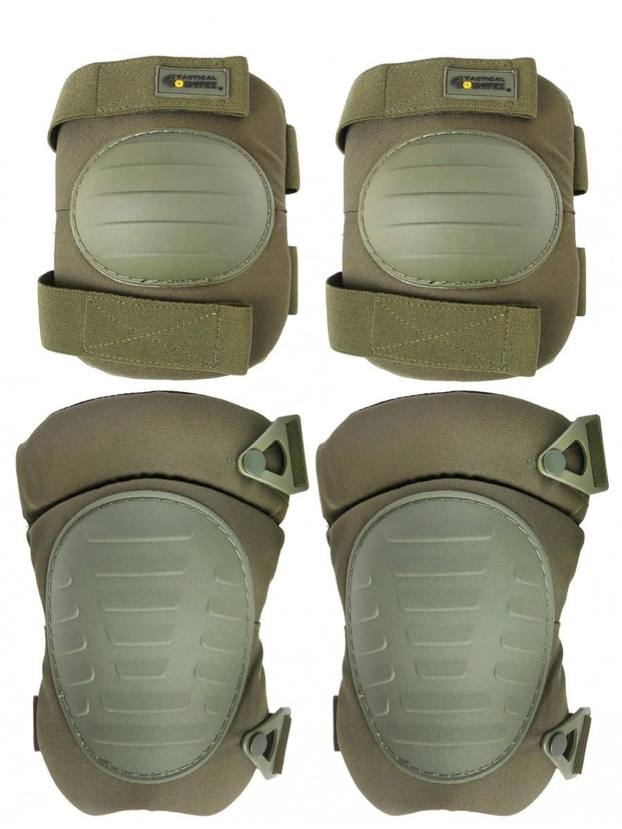 Защита колена и локтя Kamukamu 700864 оливковые