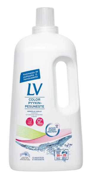 Lv концентрированное жидкое средство для цветного белья,