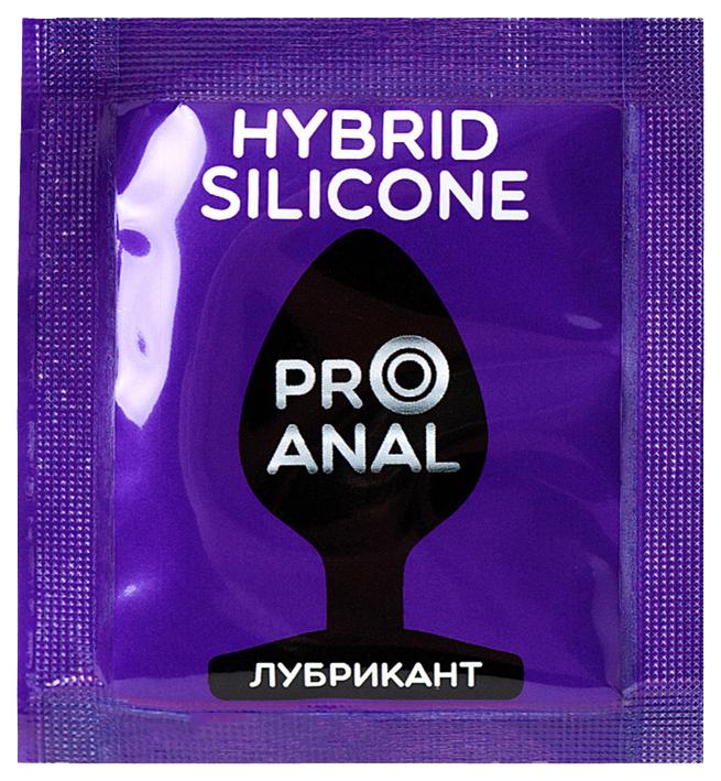 Купить Pro Anal, Лубрикант для анального секса HYBRID - SILICONE на силиконовой основе 4 гр, Биоритм