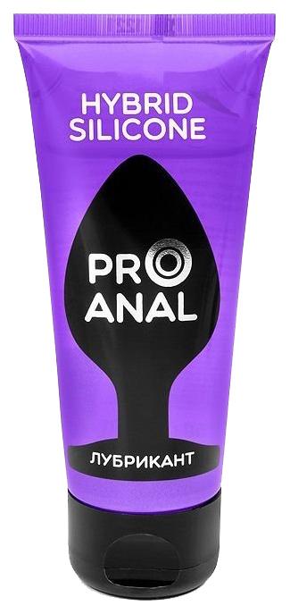 Купить Pro Anal, Лубрикант для анального секса «HYBRID - SILICONE» на силиконовой основе, 50 мл, Биоритм