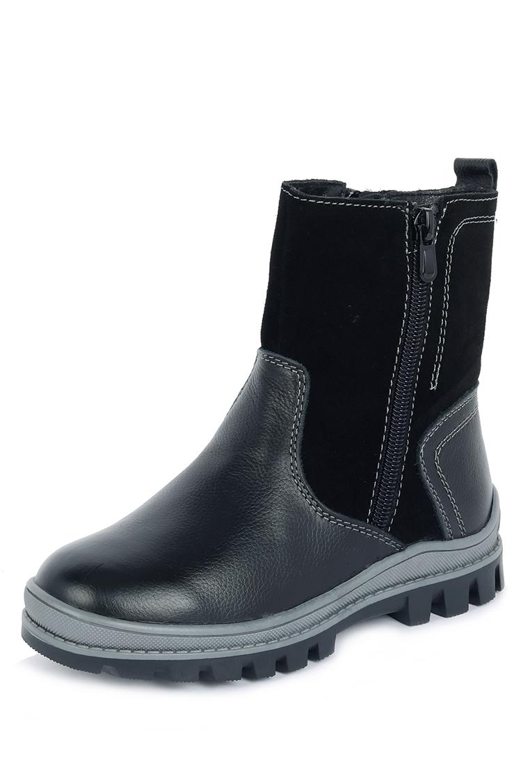 Купить Зимние JSD19A-61, Сапожки для мальчиков Alessio Nesca, цв. черный, р-р 33, Детские сапоги