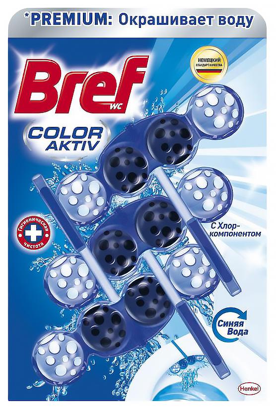 Средство Bref blue aktiv чистящее для унитаза