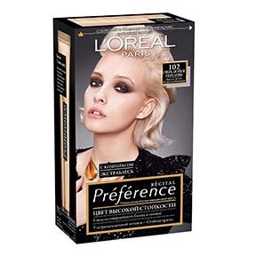 Купить Краска для волос L`Oreal Paris Preferance 102 40 мл, L'Oreal Paris