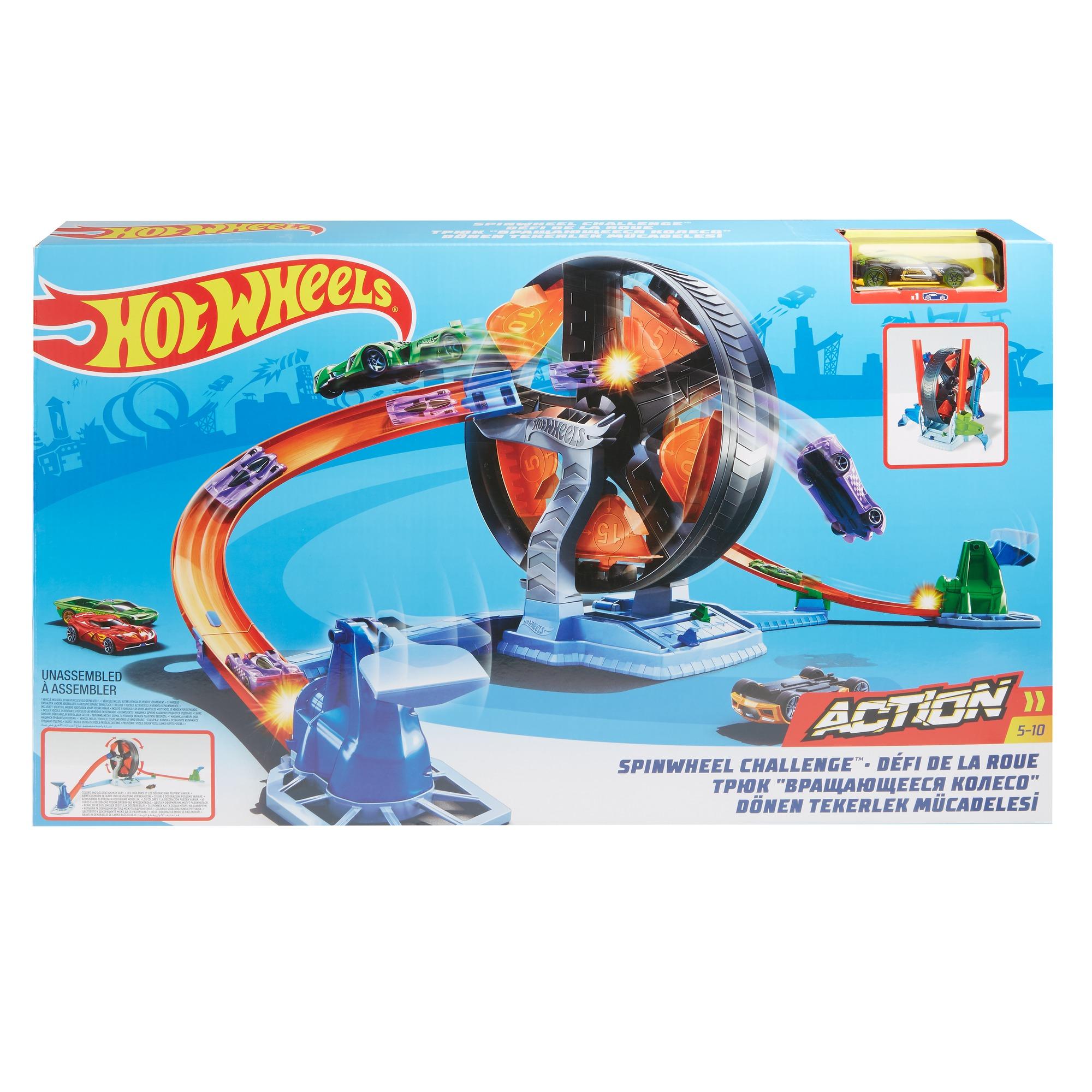 Купить Игровой набор Hot Wheels Круговое противостояние, Mattel,