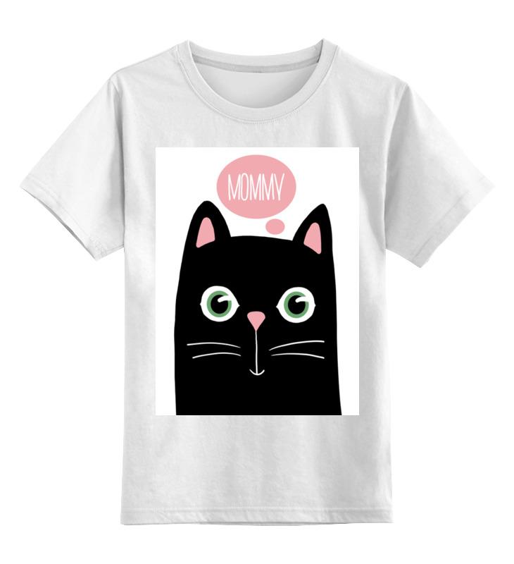 Детская футболка Printio Mommy! цв.белый р.104 0000002847230 по цене 790