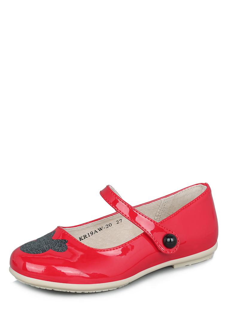 Купить KR19AW-20, Туфли детские Minnie Mouse, цв. красный р.24, Детские туфли