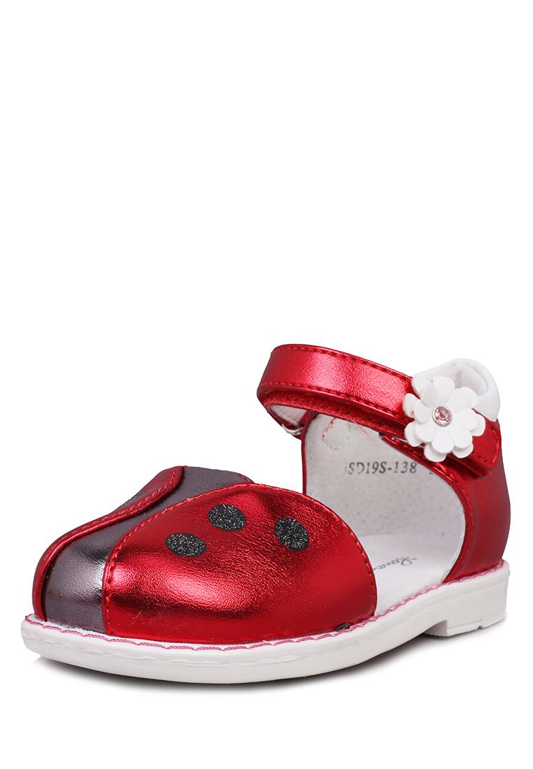 Купить JSD19S-138, Туфли детские Honey Girl, цв. красный р.25,