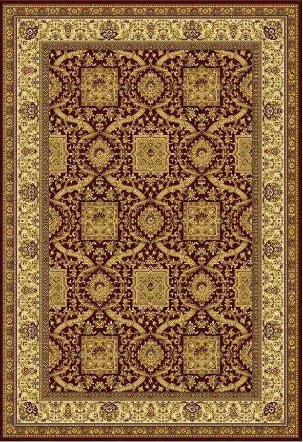 Шерстяной ковер коллекции «Imperial Qum» 26909, 100x120 см