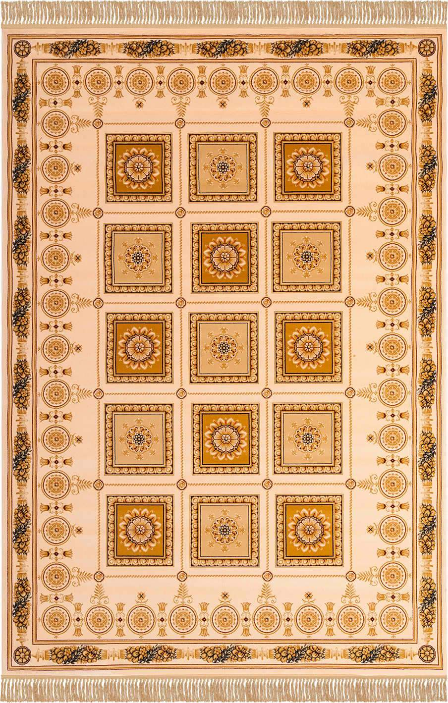 Шерстяной ковер коллекции «Imperial Qum», 26967, 150x80 см