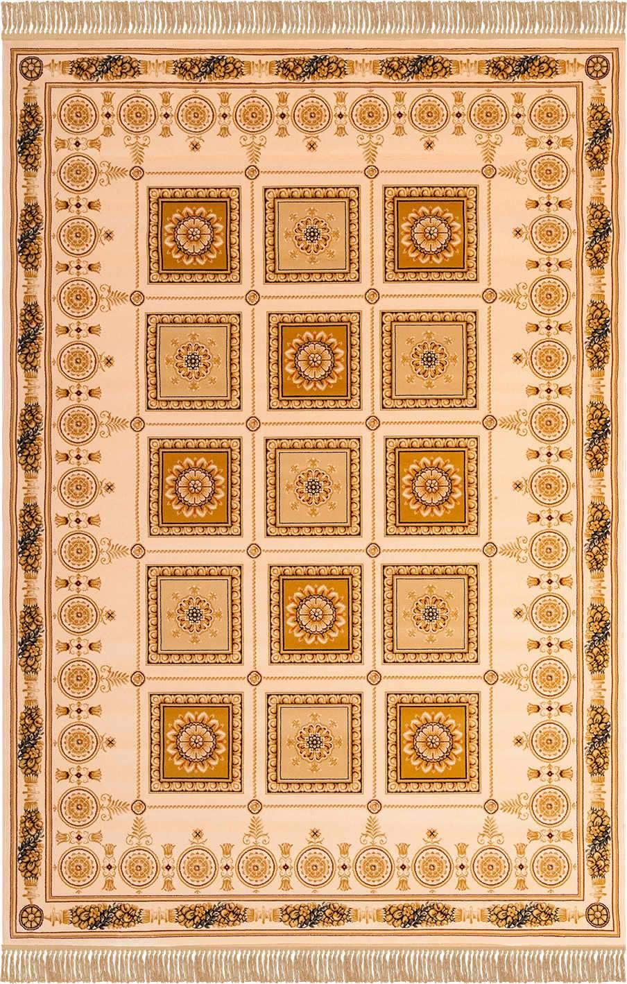 Шерстяной ковер коллекции «Imperial Qum» 26967, 180x120 см