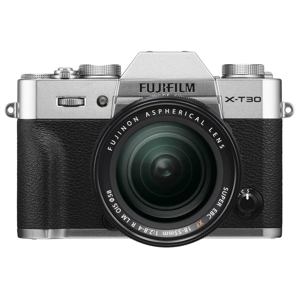 Фотоаппарат цифровой компактный FUJIFILM X-T30 Kit 18-55mm цвет серебристый X-T30 Kit 18-55 Silver