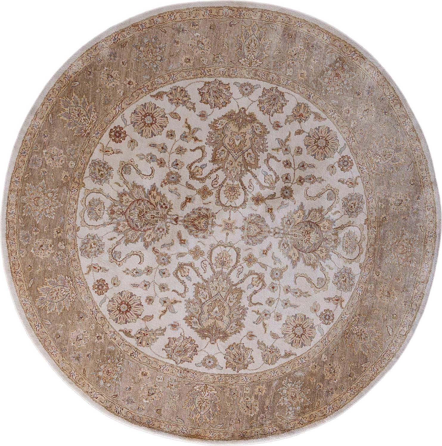 Круглый шелковый ковер ручной работы коллекции «Super Luxe 12/ 12 Silk» 35824, 205x205 см