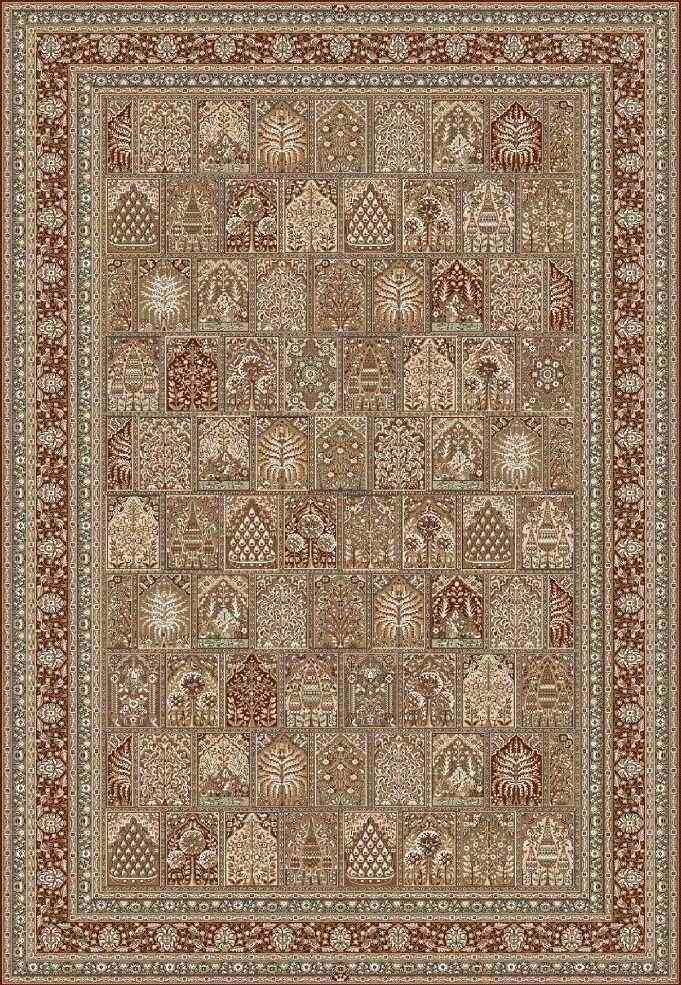 Шерстяной ковер коллекции «Surabaya» 32320, 80x150 см
