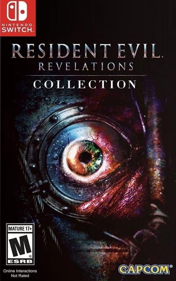 Игра Resident Evil Revelations Collection для Nintendo Switch Capcom