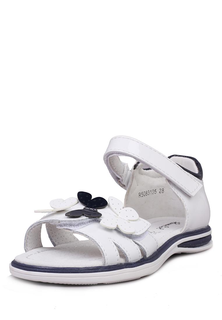 Купить R5083105, Сандалии для девочек Honey Girl, цв. белый, р-р 27, Детские сандалии