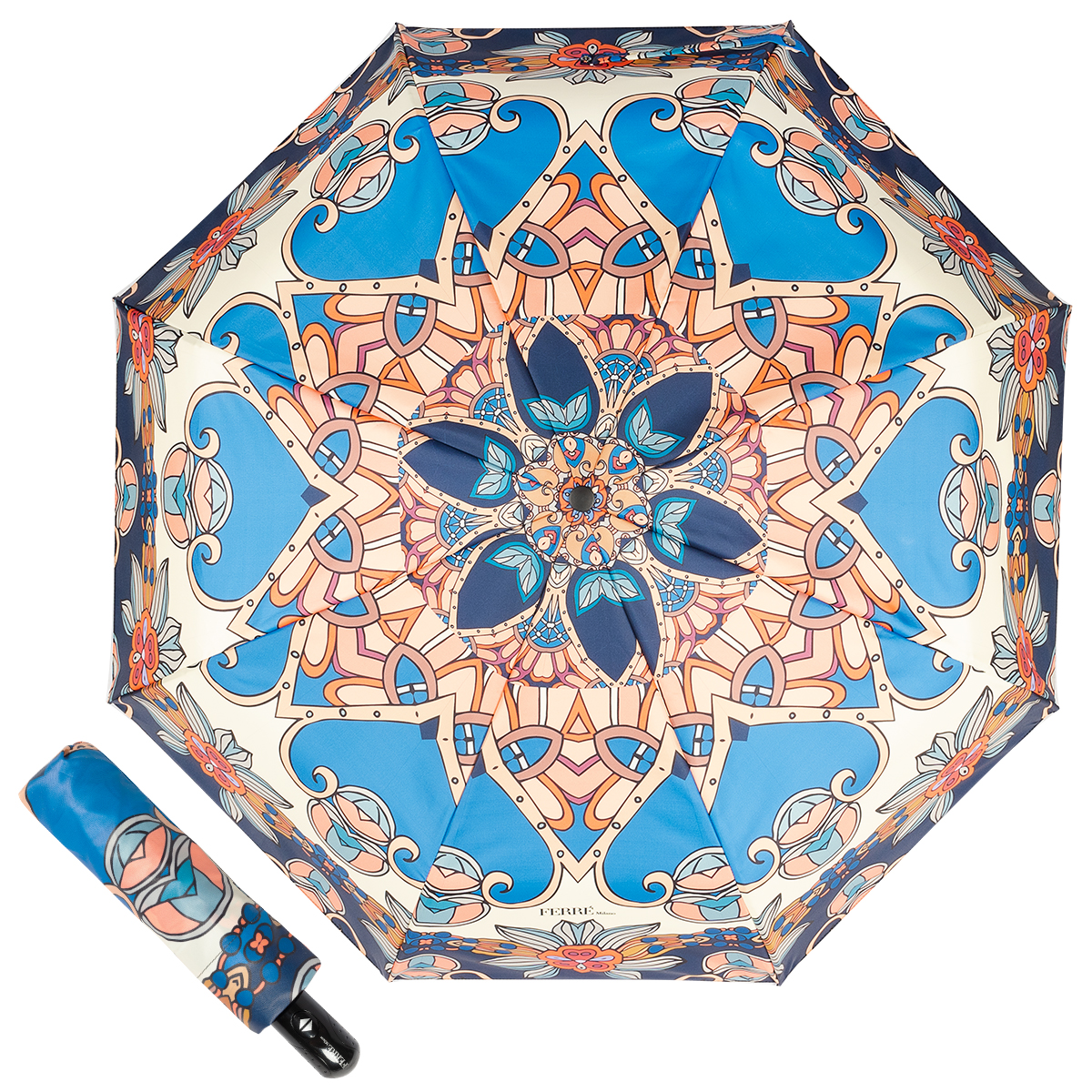 Зонт FERRE MILANO 302 синий