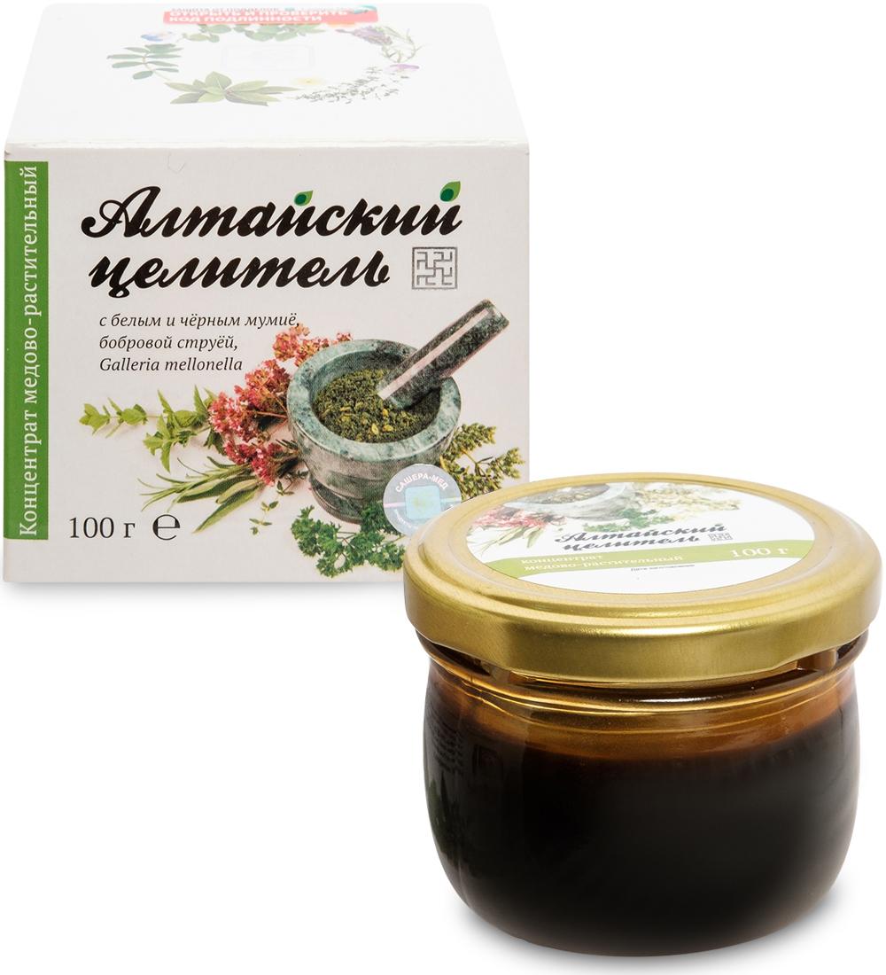 Бальзам Алтайский целитель медово растительный 100 мл