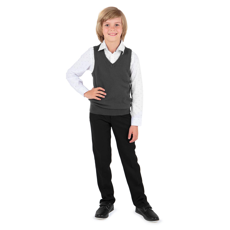 Жилет для детей Leader Kids DS202-b4-1-724 серый 128