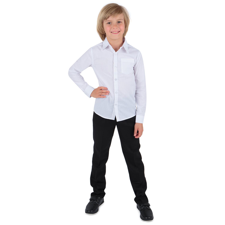 Рубашка для детей Leader Kids DS202-b4-1-732 белый 128