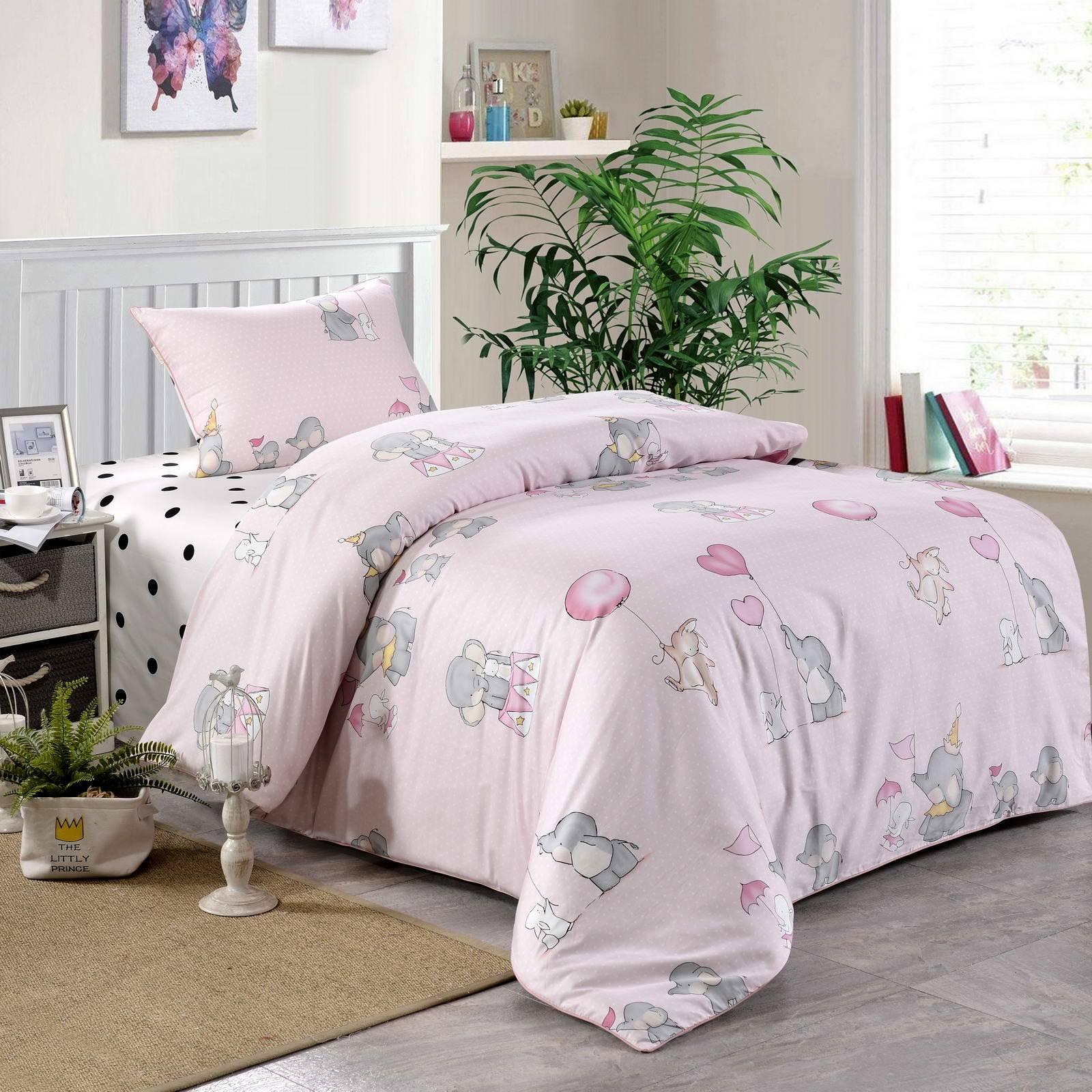 Купить Комплект постельного белья Элиот , детский, цвет: розовый, Sofi dе Marko,