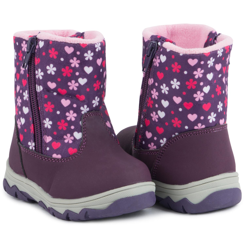 Купить Ботинки для детей Kidix BSTF20-17 purple фиолетовый 23,