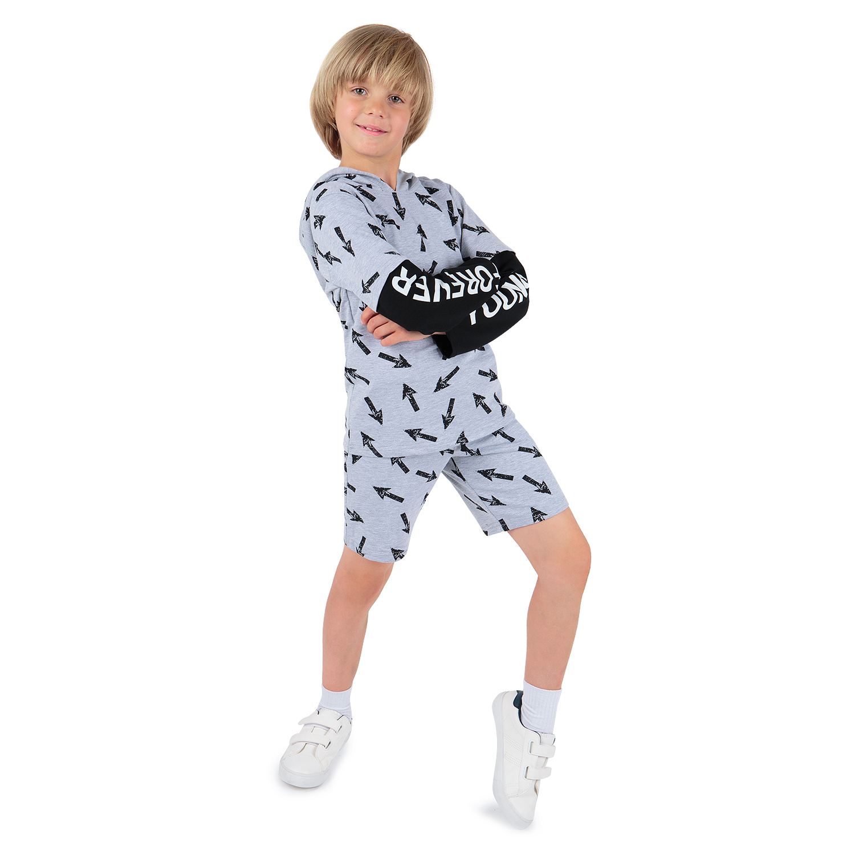 Бриджи для детей Leader Kids ЛКЛ2122506798фу01 серый 98