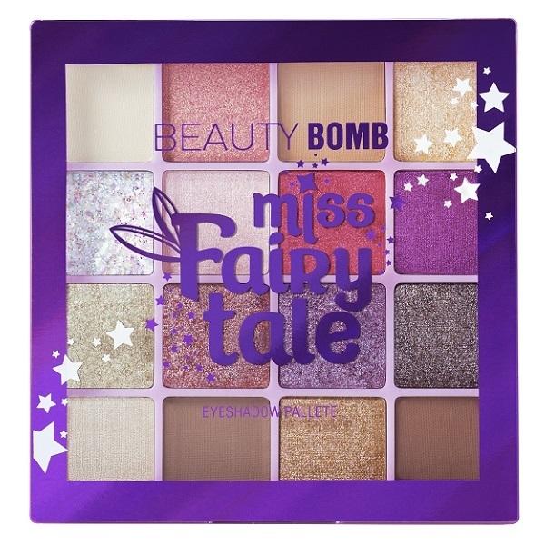 Палетка теней Beauty Bomb Miss Fairytale,