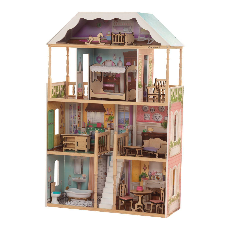 Кукольный домик KidKraft Шарллота с мебелью 65956_KE