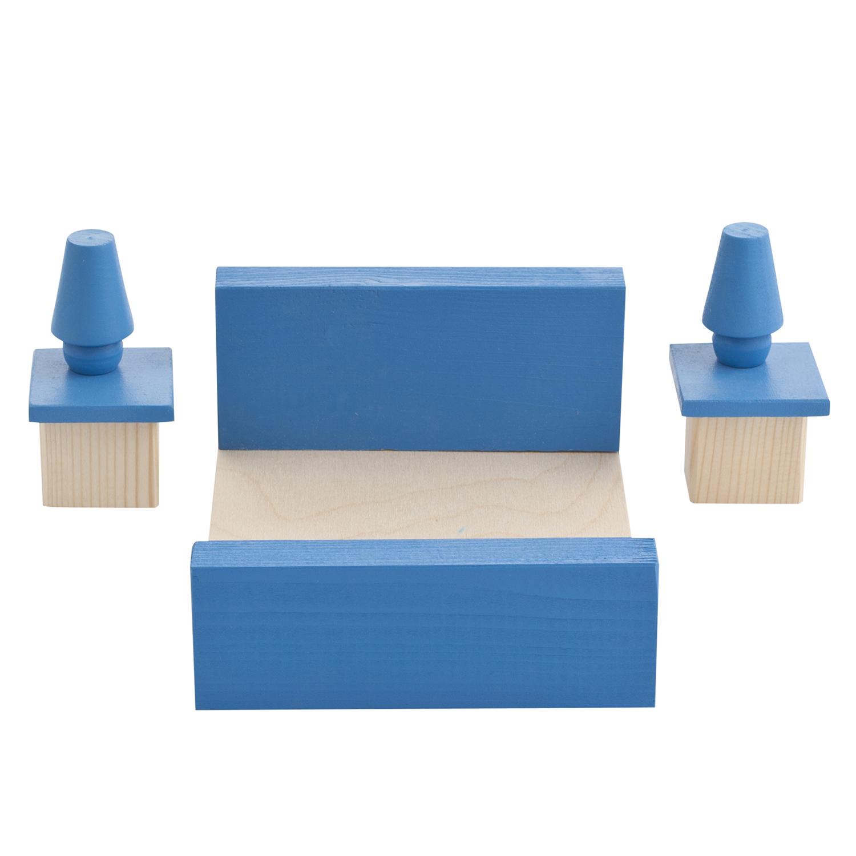 Набор мебели для мини кукол – Спальня