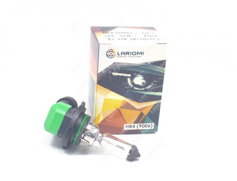Лампа Галогенная Hb4 12v 51w P22d LARIOMI LB11017C1
