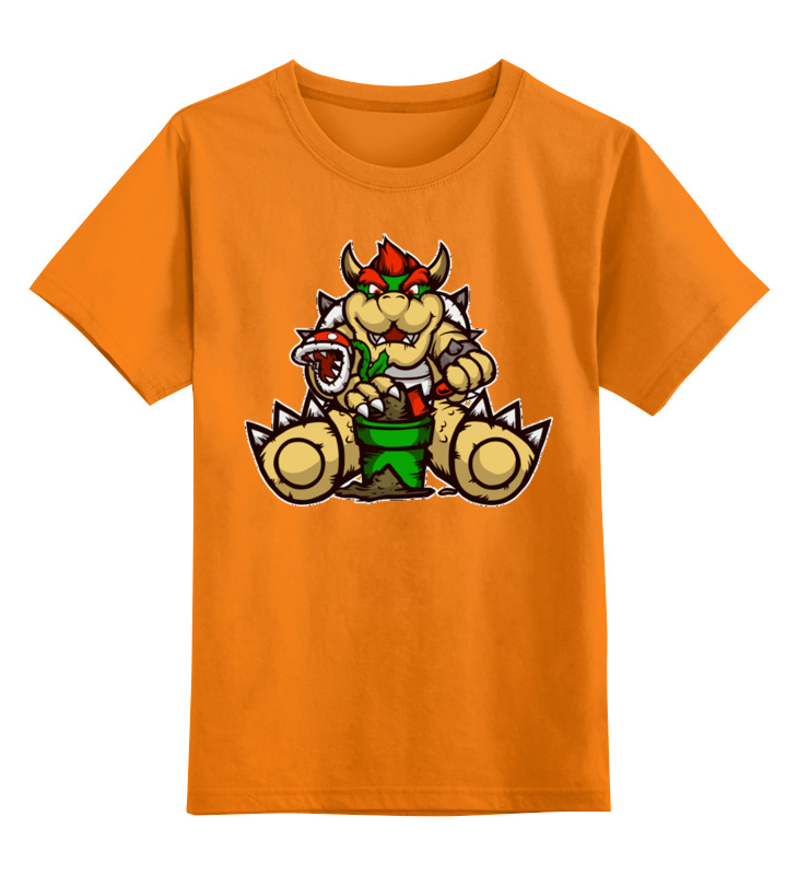 Купить 0000002614391, Детская футболка Printio Боузер цв.оранжевый р.152,