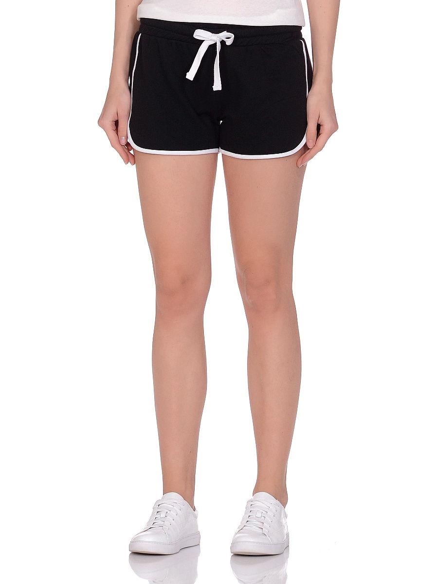Спортивные шорты женские Modis M201W01248 черные