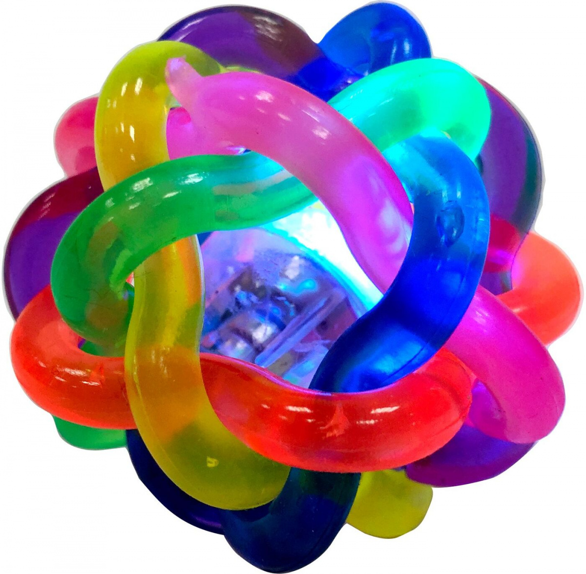Игрушка для кошек Aromadog Petpark мячик светящийся по цене 199