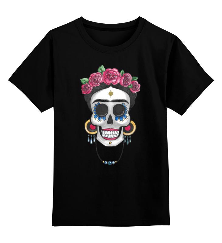 Детская футболка Printio Фрида цв.черный р.152 0000002695991 по цене 927