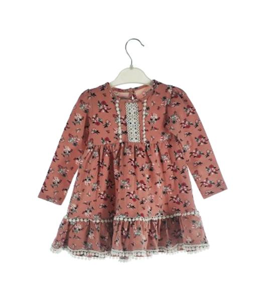 Платье для девочек DECO цв. розовый р.74