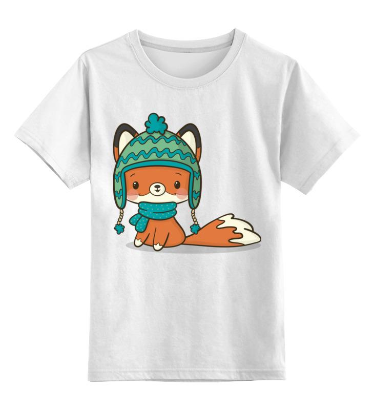 Детская футболка Printio Лисичка цв.белый р.152 0000002654710