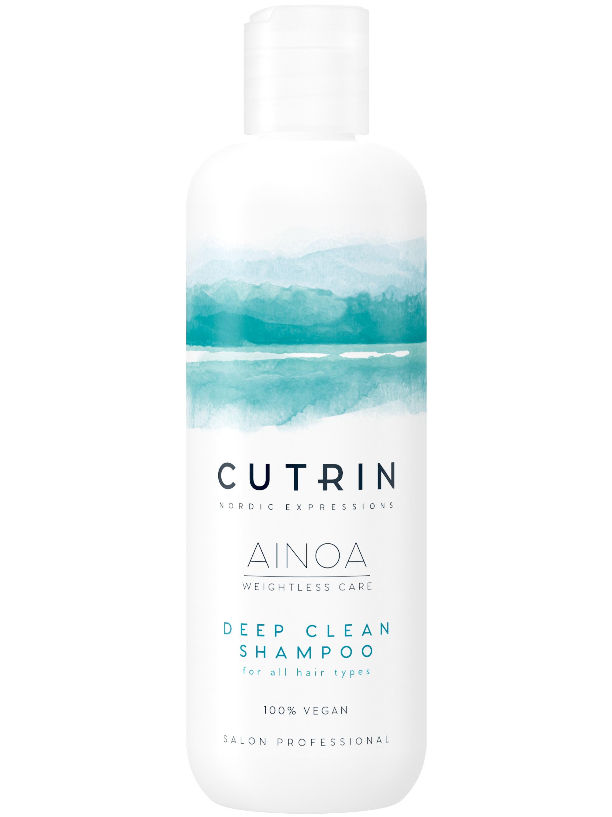 Купить Шампунь CUTRIN AINOA DEEP CLEAN для глубокого очищения волос 300 мл