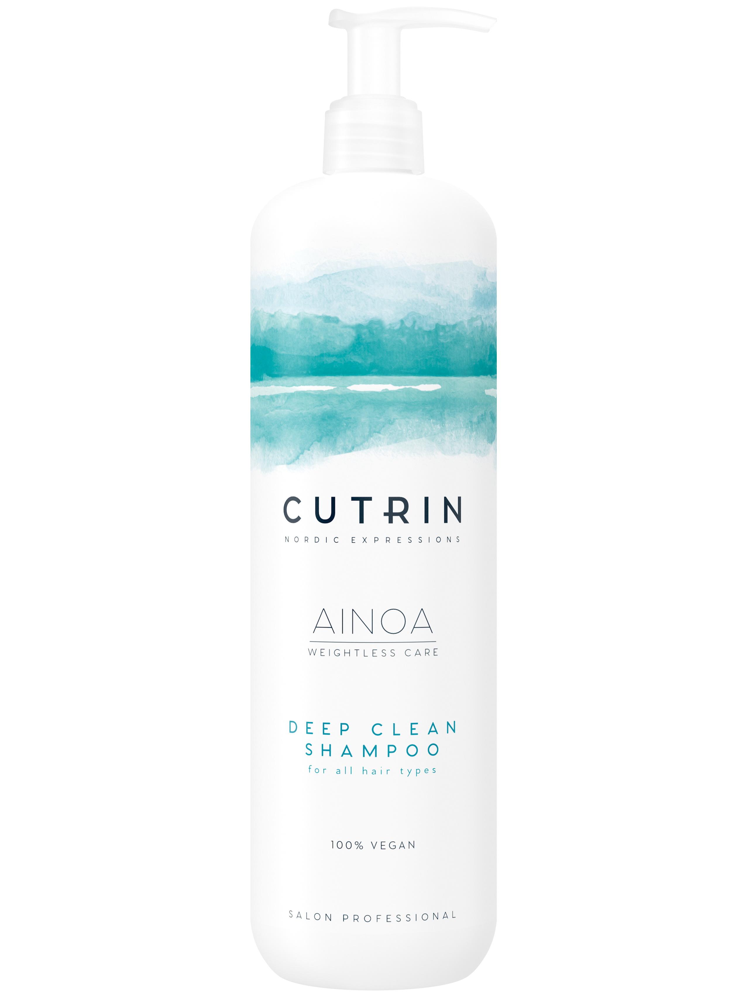 Купить Шампунь CUTRIN AINOA DEEP CLEAN для глубокого очищения волос 1000 мл