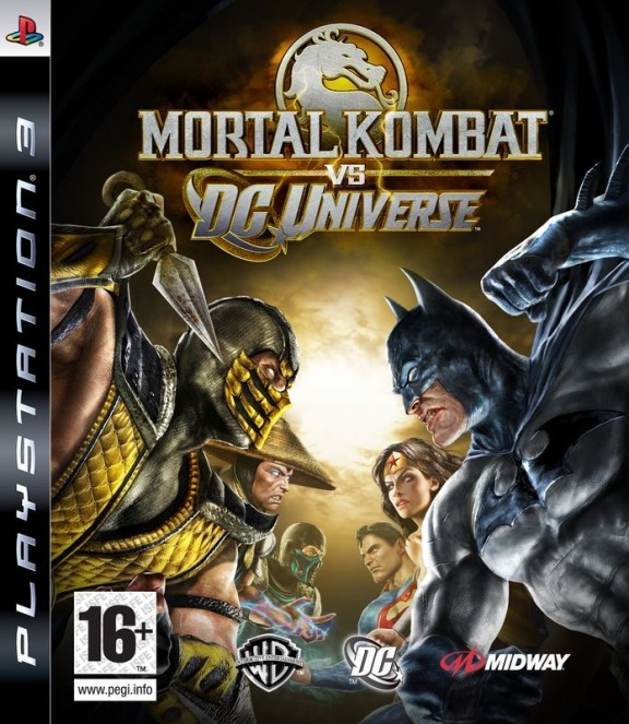 Игра Mortal Kombat vs. DC Universe для PlayStation 3 Sony