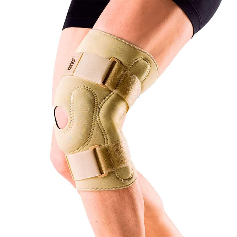 Ортез на коленный сустав из неопрена