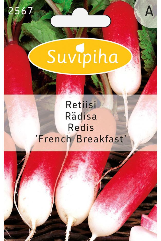 Семена Suvipiha Редис Французский завтрак, 215 шт.