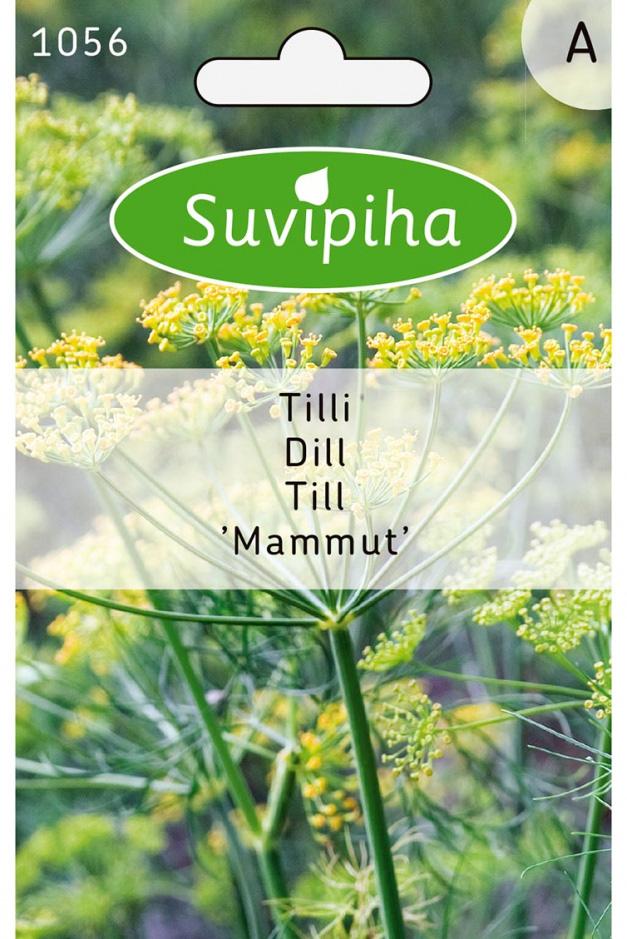 Семена Suvipiha Укроп Маммут, 1800 шт.
