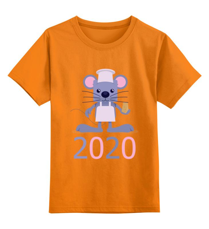 Детская футболка Printio Мышка цв.оранжевый р.140 0000002895871 по цене 990