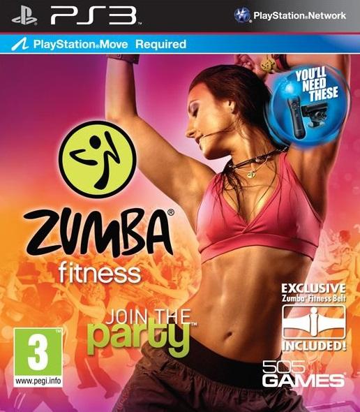 Игра Zumba Fitness для PlayStation 3 Sony
