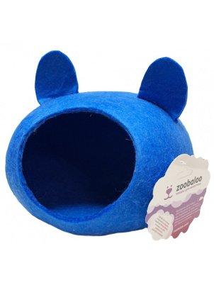 Домик для грызунов Zoobaloo Woolpethouse с ушками,