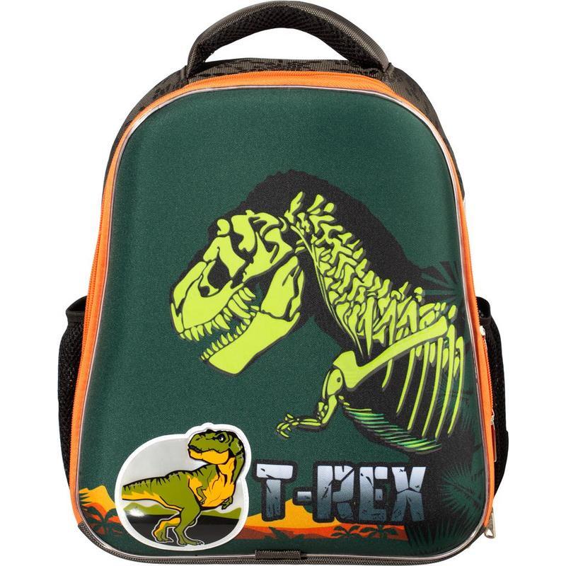 Ранец ортопедический №1 School Basic T-Rex (Неоновая подсветка корпуса на пульте д/у)