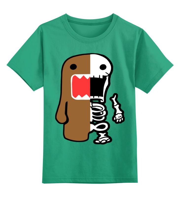 Купить 0000002985749, Детская футболка Printio Зомби цв.зеленый р.140,