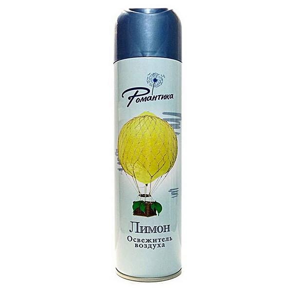 Освежитель воздуха Романтика лимон спрей 300 мл